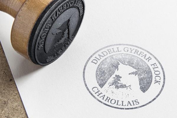 Diadell Gyrfar Flock Logo